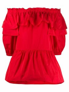 P.A.R.O.S.H. off-the-shoulder blouse - Red