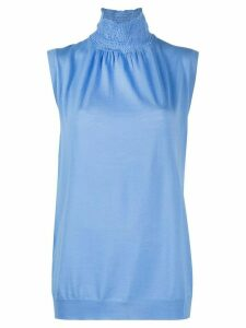 Prada knitted tank top - Blue