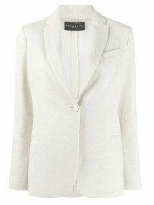 Fabiana Filippi sequin-embellished single-breasted blazer - NEUTRALS