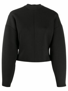 Beaufille boxy plain sweatshirt - Black