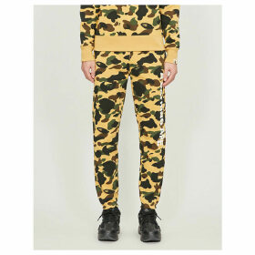 1st Camo tapered cotton-jersey tracksuit bottoms