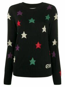 Être Cécile glitter stars jumper - Black