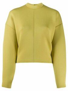Beaufille boxy plain sweatshirt - Yellow