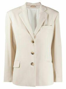 Nehera fitted blazer - NEUTRALS