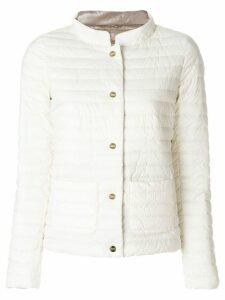 Herno reversible puffer jacket - White