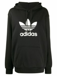 adidas Trefoil logo hoodie - Black