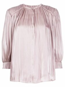 Rebecca Minkoff pleated detail blouse - NEUTRALS