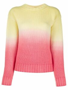 Alanui Wave Life gradient jumper - Yellow