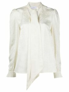 Racil bow tie blouse - NEUTRALS