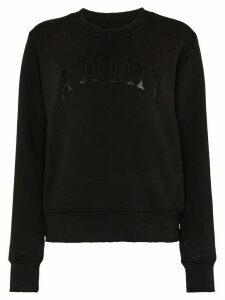 AMIRI logo sweatshirt - Black