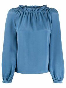 Goat Renoir silk blouse - Blue