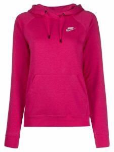 Nike stitched logo hoodie - PINK