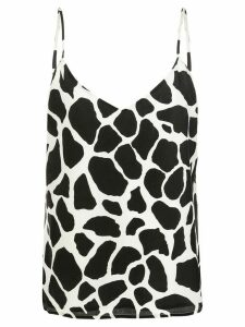 L'Agence v-neck tank top - Black