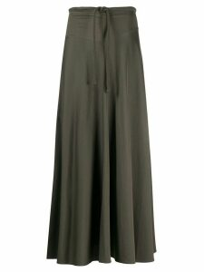 Lemaire long tie waist skirt - Grey