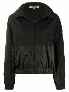 Kenzo two-tone windbreaker jacket - Black