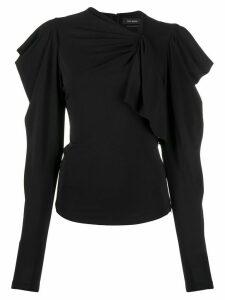 Isabel Marant Gillian draped top - Black