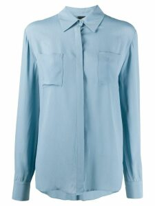 Pinko Norina patch-pocket shirt - Blue