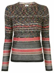 M Missoni abstract pattern jumper - Red
