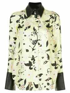 Ellery floral print blouse - Yellow