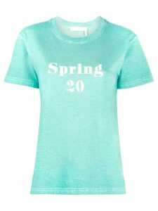 See by Chloé crew neck 'Spring 20' T-shirt - Blue