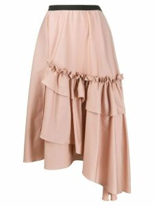 Antonio Marras asymmetric ruffled skirt - PINK