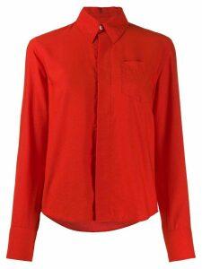 Ami Paris pointed collar shirt - Red