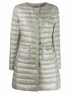 Herno pocket detail down coat - Grey
