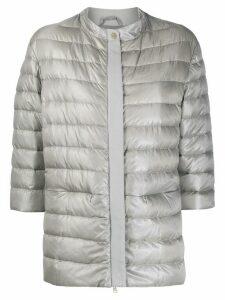Herno zipped up padded jacket - Grey