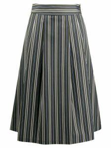 Aspesi striped skirt - Green