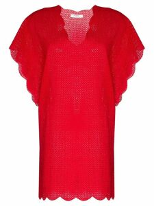 Marysia Shelter Island tunic - Red