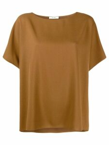 The Row oversized short-sleeve jumper - Brown