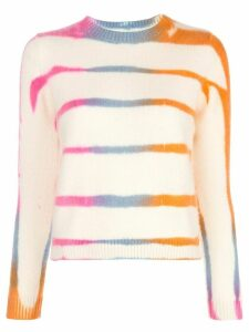 The Elder Statesman The Elder Statesman tie-dye sweater - NEUTRALS