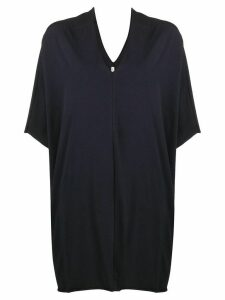 Stefano Mortari knitted kaftan top - Blue