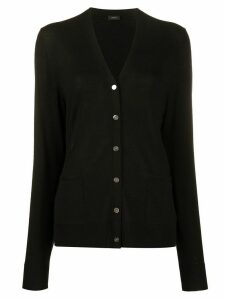 Joseph v-neck cardigan - Black