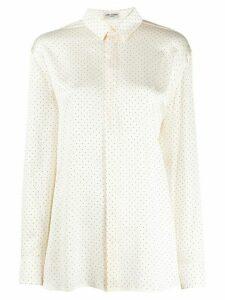 Saint Laurent studded shirt - NEUTRALS