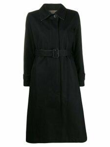 Mackintosh reversible belted trench coat - Black