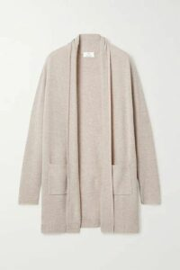Allude - Wool And Cashmere-blend Cardigan - Beige