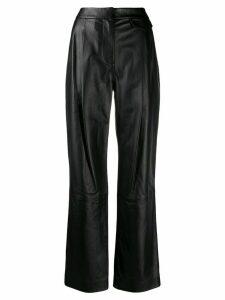 3.1 Phillip Lim Long Leather Pants - Black