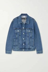 Vetements - Embroidered Denim Jacket - Blue