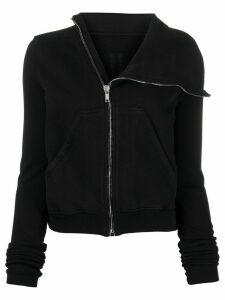 Rick Owens DRKSHDW Mountain zipped sweatshirt - Black