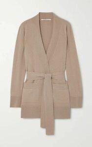 Agnona - Belted Cashmere Cardigan - Taupe