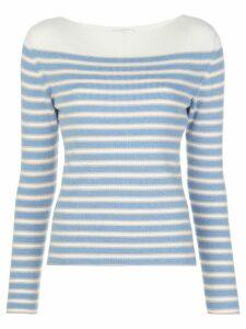 Barrie horizontal striped jumper - Blue