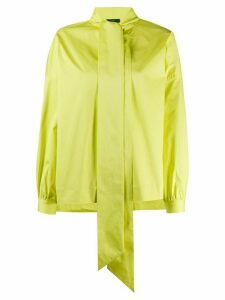 Jejia boxy pussy bow blouse - Yellow