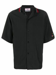 Martine Rose logo collar shirt - Black