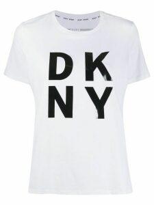 DKNY logo print T-shirt - White
