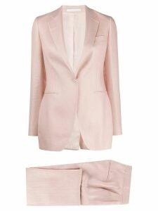 Tagliatore fitted trouser suit - PINK
