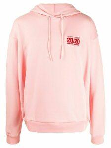 Martine Rose 20/20 hoodie - PINK