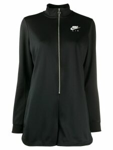 Nike logo print romper - Black