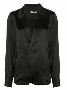 ANINE BING Isabella long-sleeve blouse - Black