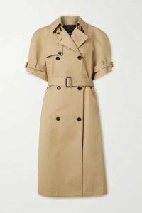 we11done - Cotton-gabardine Trench Coat - Beige